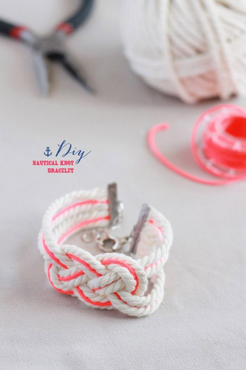 DIY Nautical Knot Bracelet